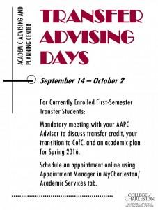 Transfer Advising Days