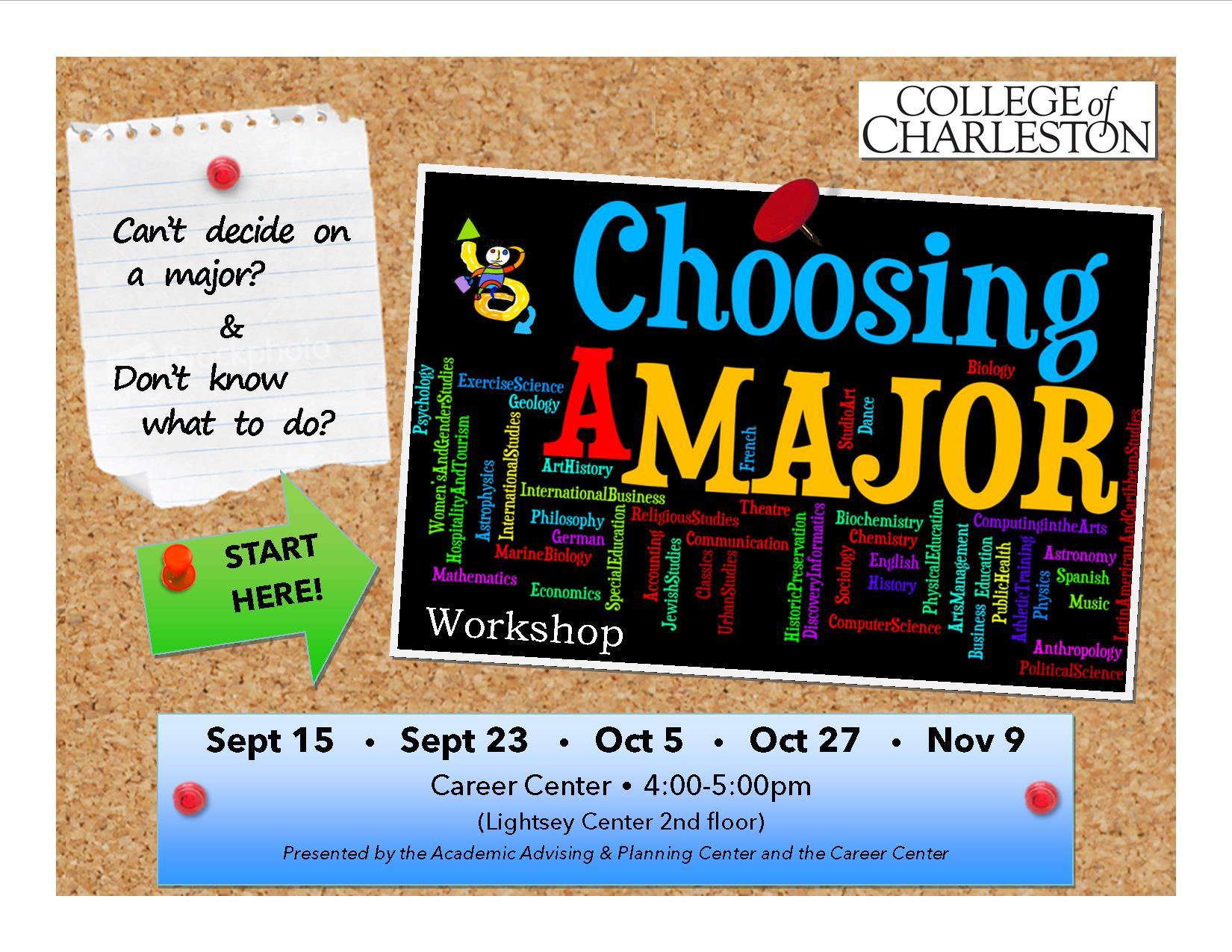 choosing a major workshopfall jykmiv jpg choosing a major workshopfall2015