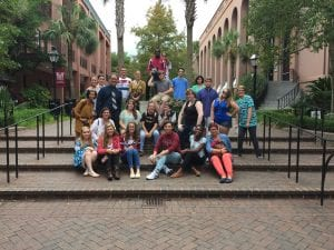 Local High School Students on campus for Lowcountry German Day!