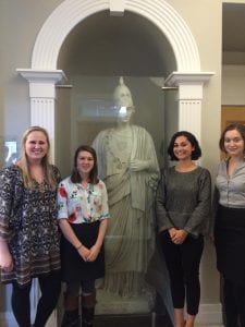 College of Charleston Classics students present research