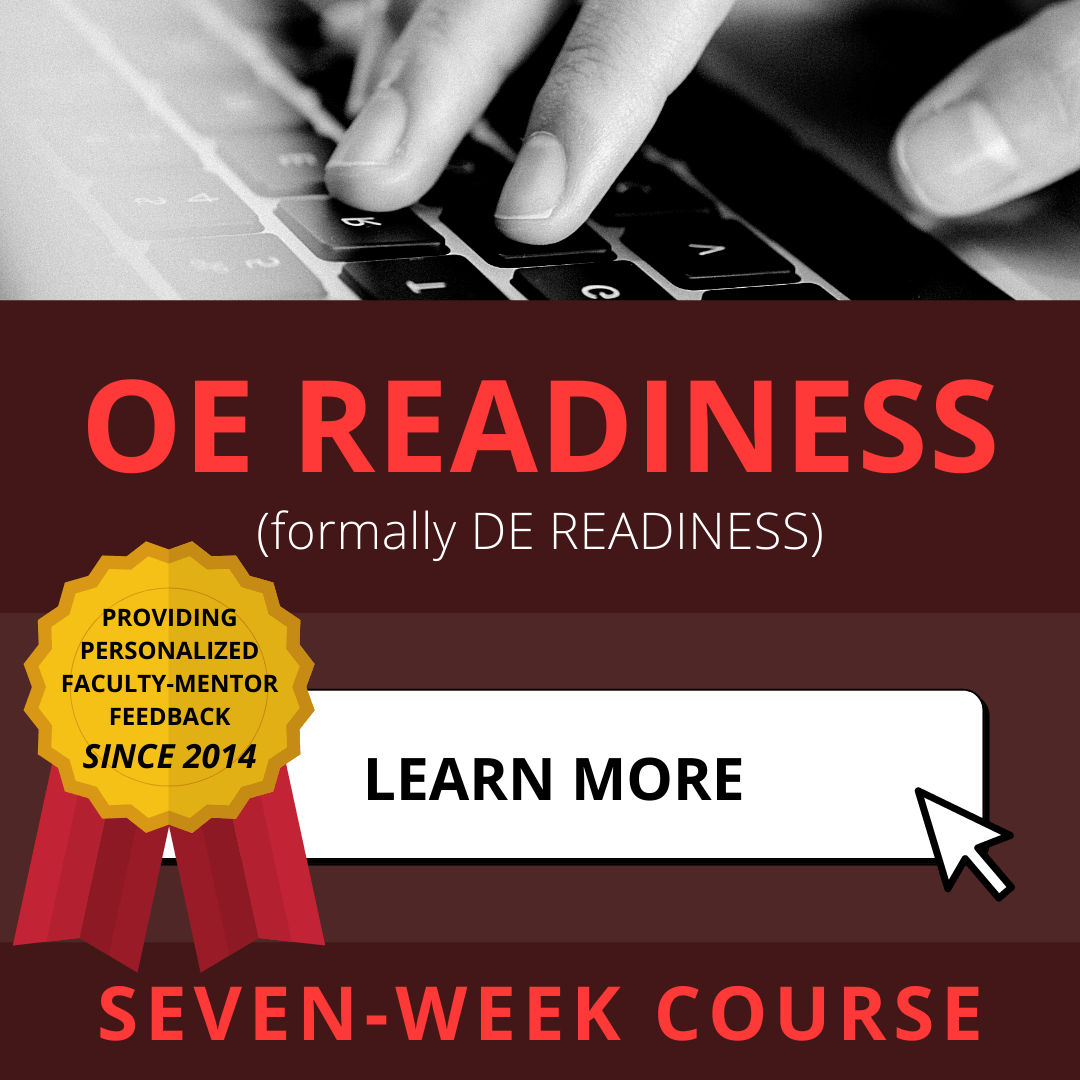 OE Readiness Course