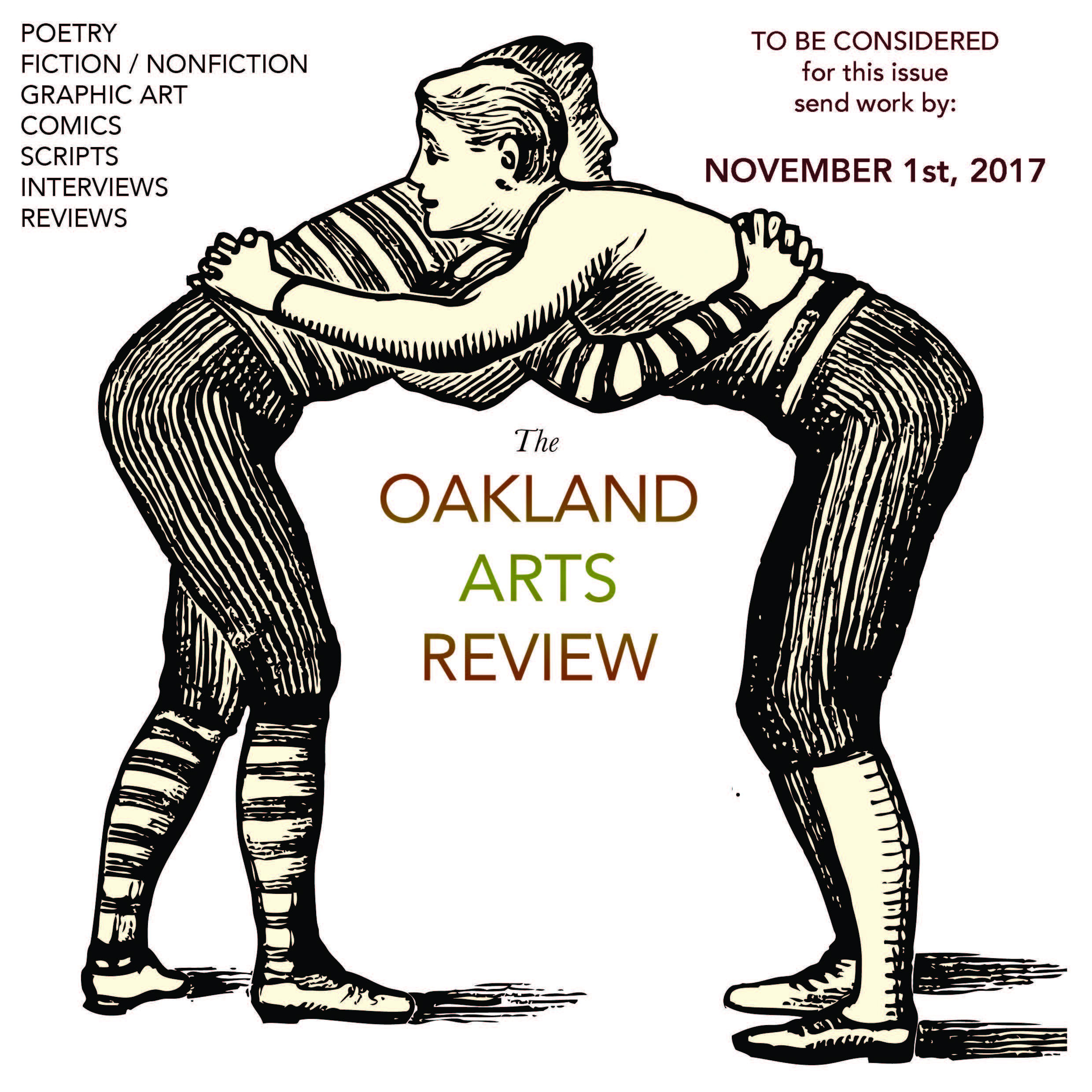 Student Opportunities: Oakland Arts Review