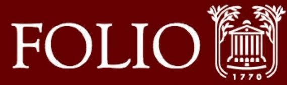 Banner image of Folio logo