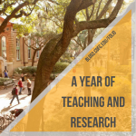Department Updates: A Year of Teaching and Research
