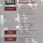 The National Day on Writing is on October 20th!
