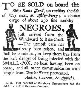charlestonslavesale