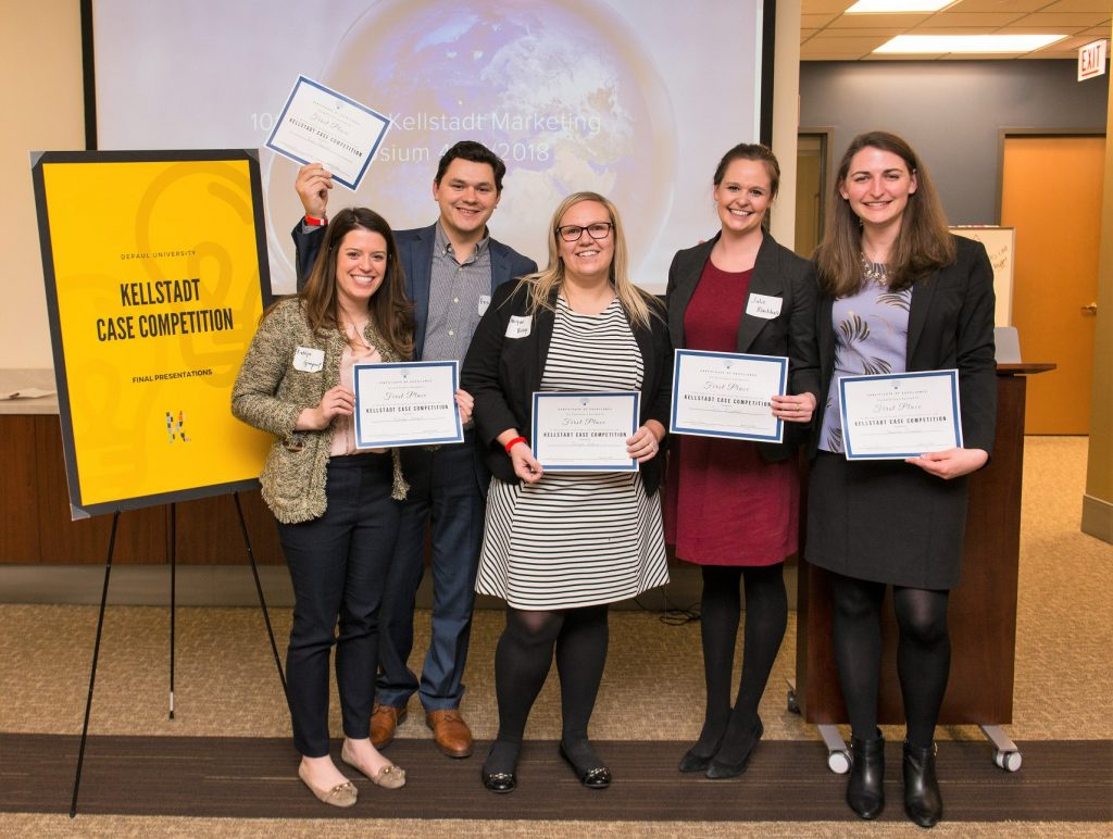 First Place: Evening Cohorts (Julie Blackhall, Amanda Blumeyer, Eric Acevedo, Jacque Bishop, Katelyn Gimpert)