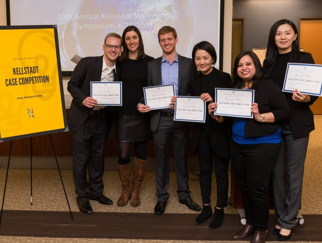 Second place: DPC Marketing (Team includes Matt Krause, Ellen Kriz, Bob Harbin, Jing Liu, Shweta Gujrathi, and Yibin Wang)