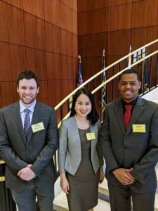 DePaul team at the KeyBank Case Competition