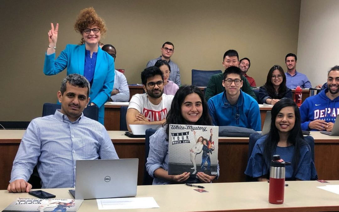 DePaul Business Alumna Highlights Real-World Lessons in Creativity and Innovation Class