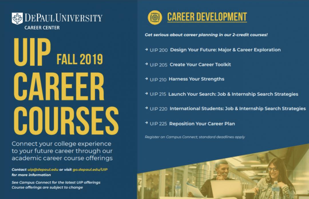 Career Development Opportunities at DePaul