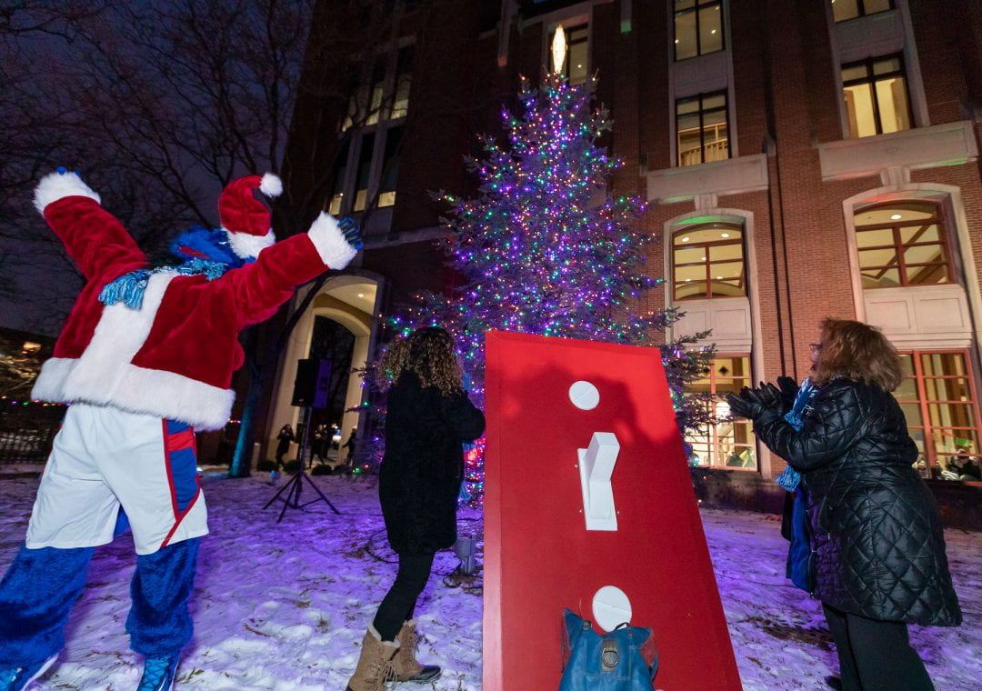 Holidays at DePaul During a Pandemic