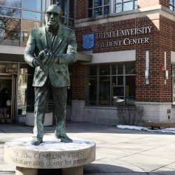 Monsignor John J. Egan: The Man Behind the Statue