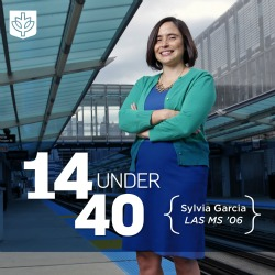 Mover and Shaker: Sylivia Garcia '06