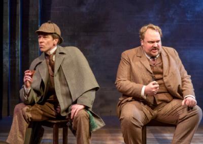 "DePaul Professor Stars in ""Sherlock Holmes"" Play"