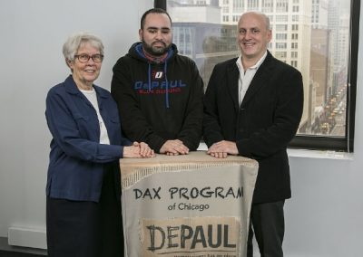 DePaul USA's Dax Program