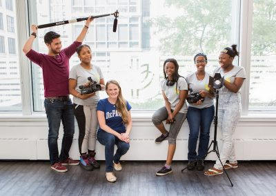 DePaul Empowers Young Female Filmmakers