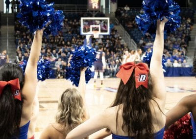 Two Sports, One Team: DePaul's Spirit Squad
