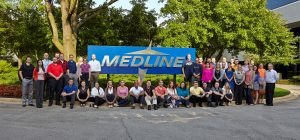 The Medline DePaul MBA cohort takes classes at the company's Mundelein, Ill., headquarters through a partnership forged by DePaul's CEO Initiative.