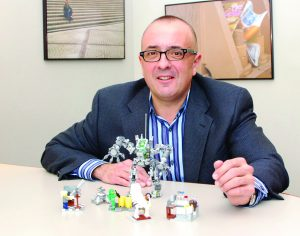 Marketing Professor Al Muñiz studies communities that form among people devoted to popular brands, including LEGO.
