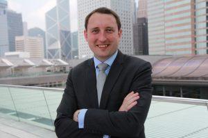 Andrew Hallissey in Hong Kong.