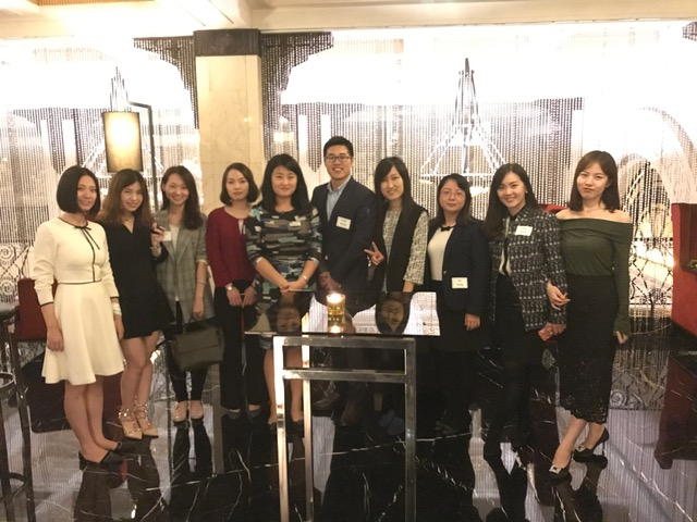 Alumni gather for the DePaul business college's first reunion and networking event in China.