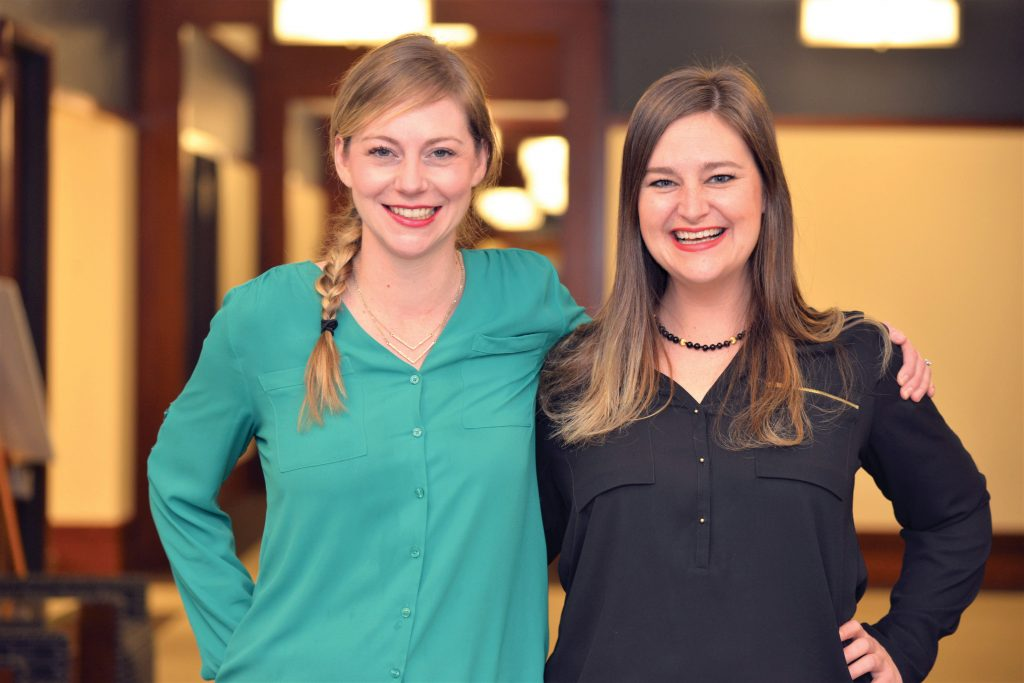 Elizabeth (MBA '15) and Melissa Ames