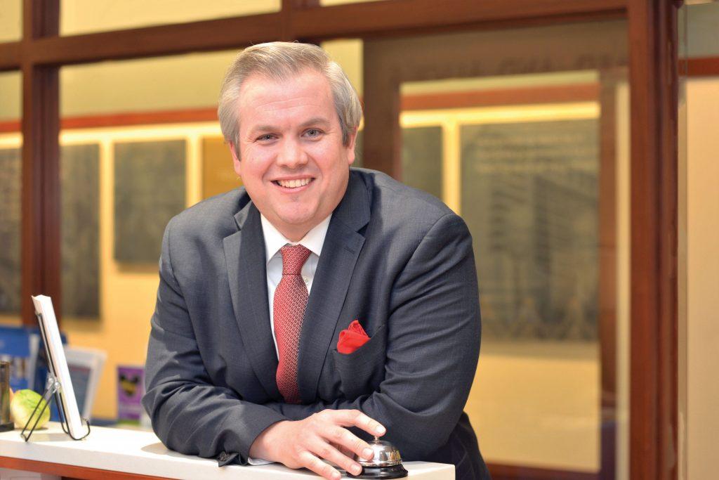 Assistant Professor Nick Thomas