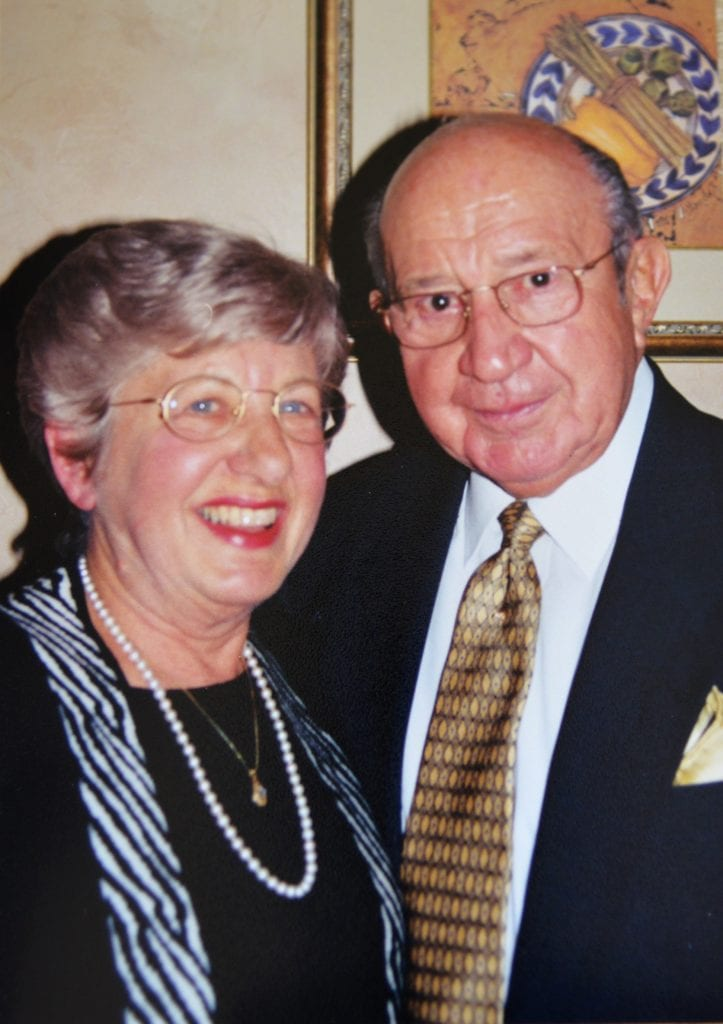 Anastasia Graven and her husband, the late John Graven,