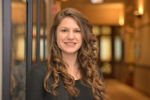 Abigail Ingram, assistant director at the Coleman Entrepreneurship Center.