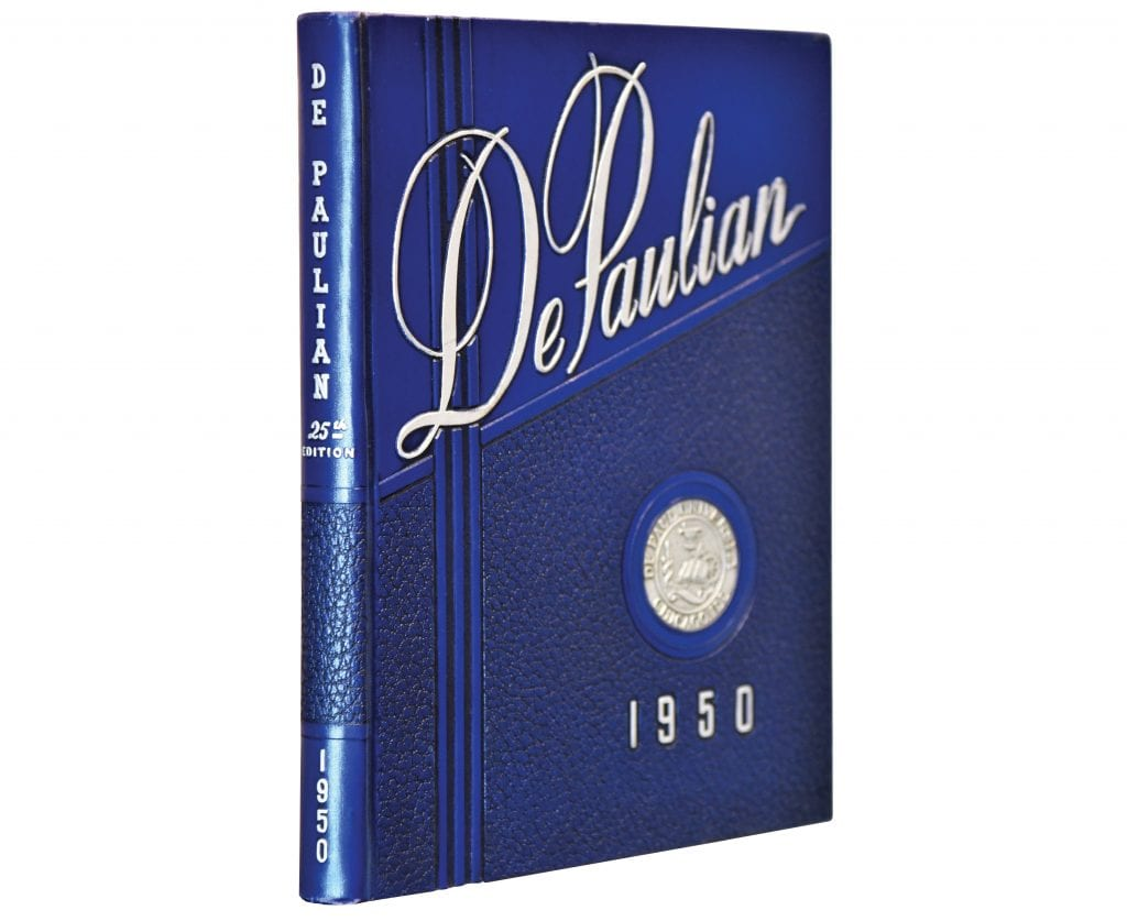 DePaulian 1950 yearbook