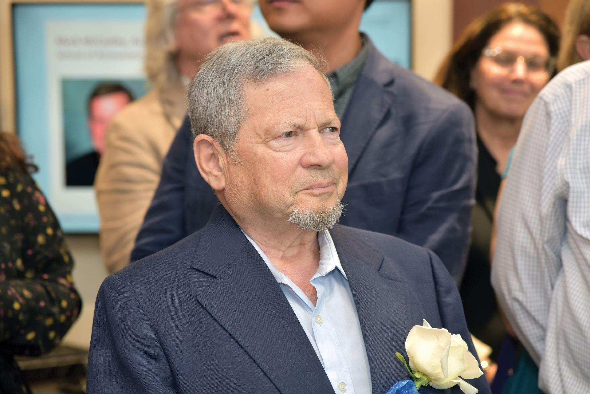 Staff member Ilya Meiertal retired after a 26-year career at DePaul.