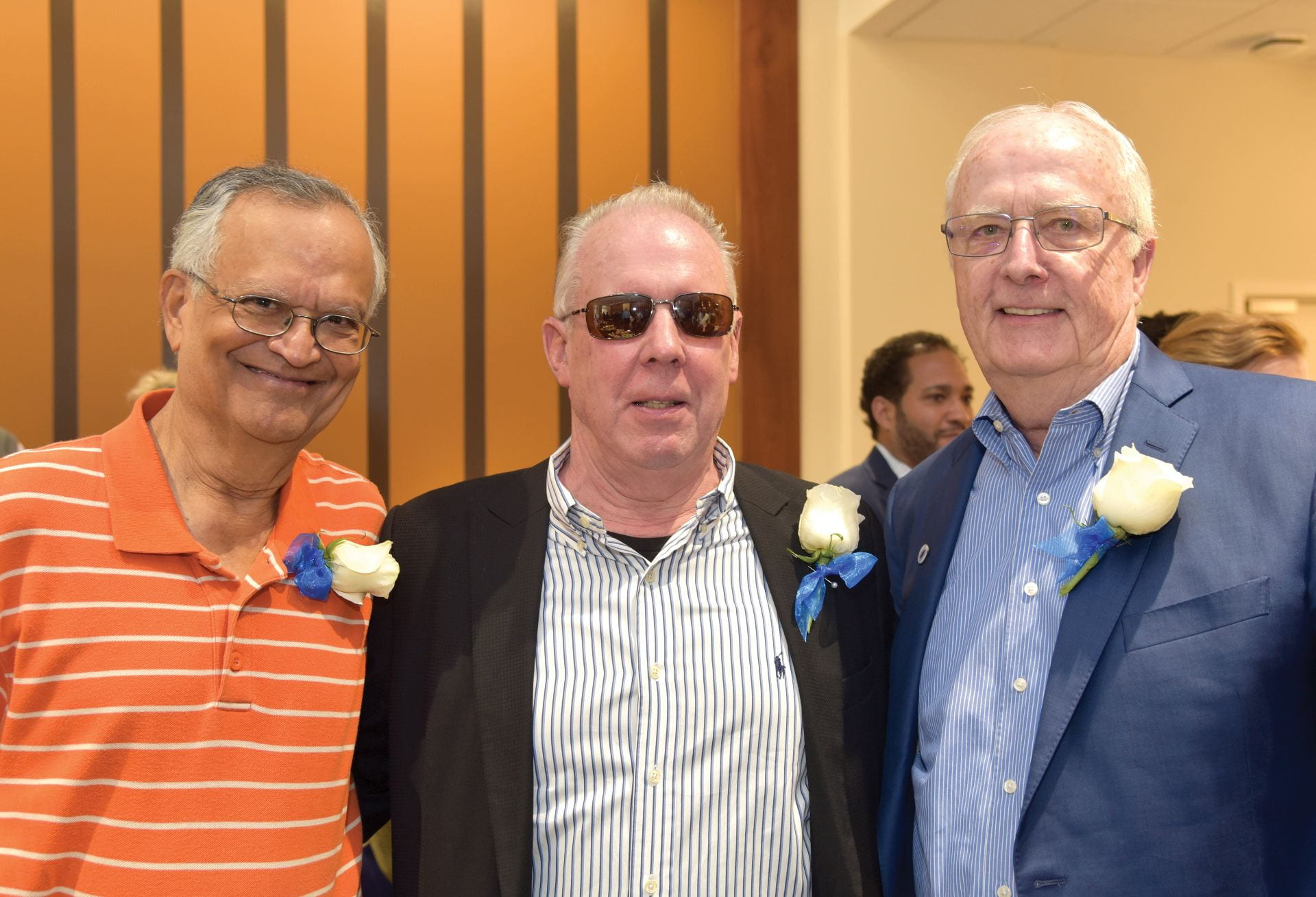 Economics Professor Bala Batavia, Marketing Associate Professor Roger Baran and Accountancy Associate Professor John Ahern were among the longtime faculty members honored.