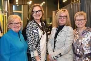 WEI committee members Donna Van Eekeren, Barbara Best, Joan Hannant and Robin Ross
