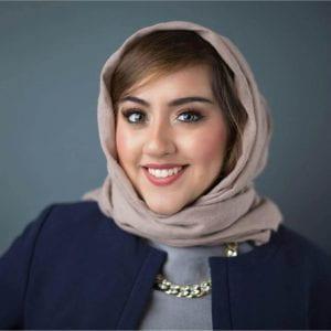 Alumna Bushra Amiwala