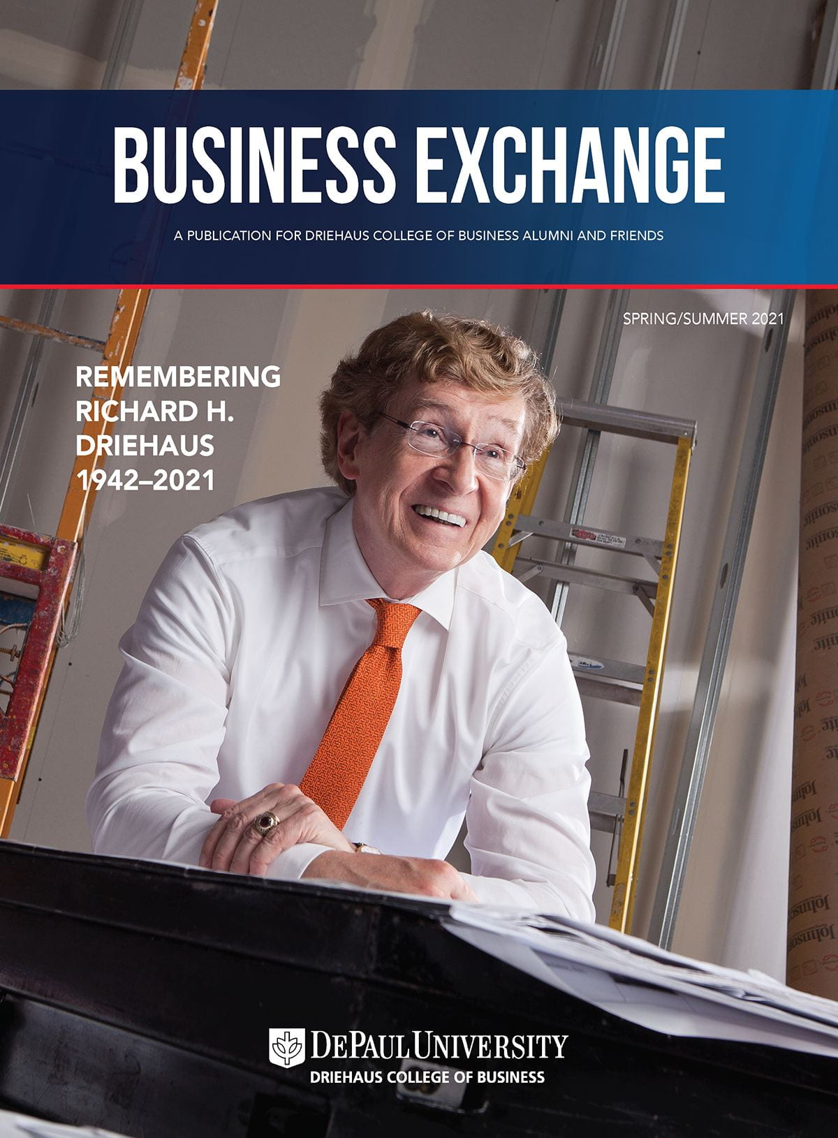 Summer/Spring 2021 Business Exchange Cover Image