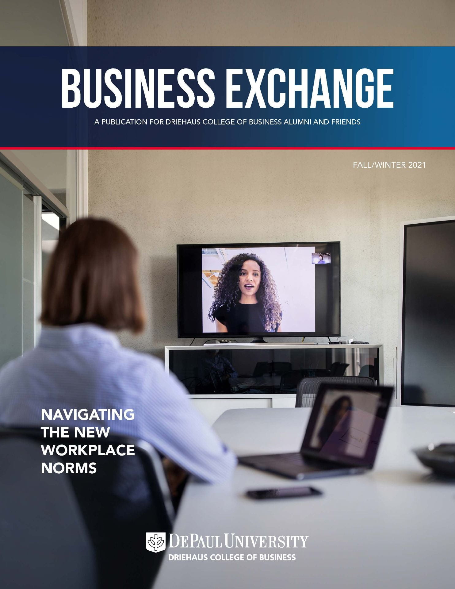 Business Exchange Fall/Winter 2021 magazine cover