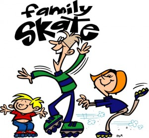 family-skate-night