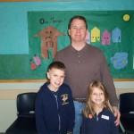 Mr. Jones, Sean and Allison