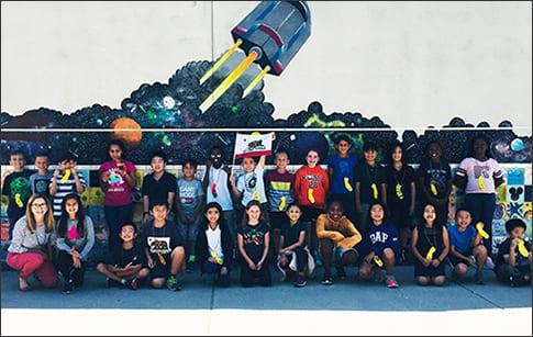 Elliott Ranch students