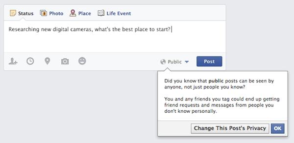 Facebook Privacy Screenshot