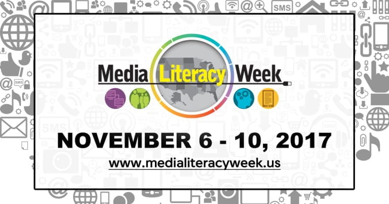 National Media Literacy Week Graphic