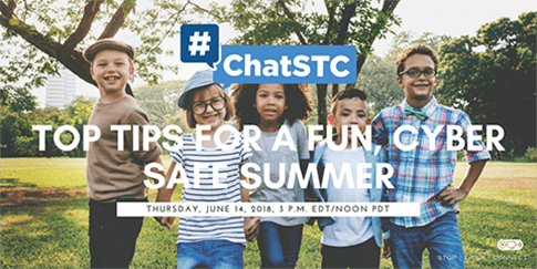 Stop Think Connect Twitter Chat Invitation