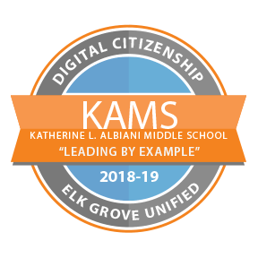 KAMS EGUSD Digital Citizenship Badge