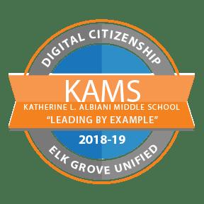 KAMS EGUSD Digital Citizenship Badge