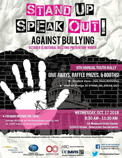 Stand Up Speak Out Poster