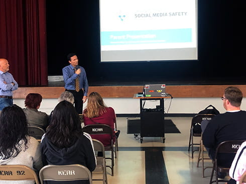 Joseph Kerr Middle School Social Media Safety Parent Night