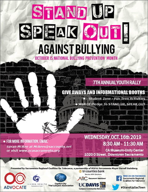 Stand Up Speak Out Event