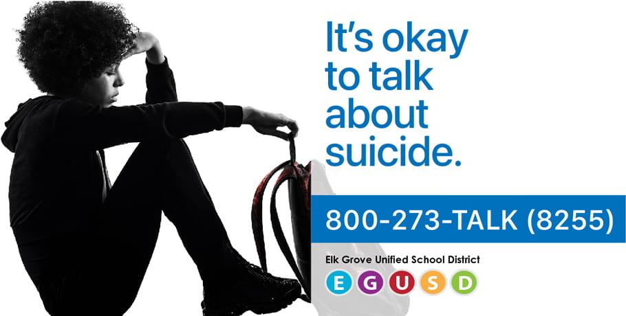 EGUSD Suicide Prevention Month