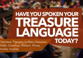 Treasure Language Storytelling Event